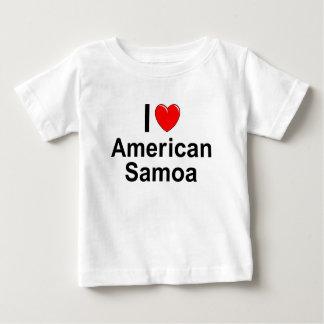 I Love Heart American Samoa Baby T-Shirt