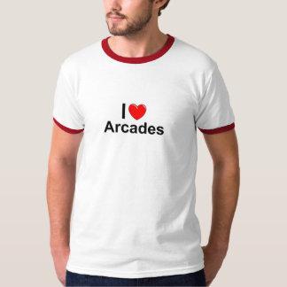I Love Heart Arcades T-Shirt