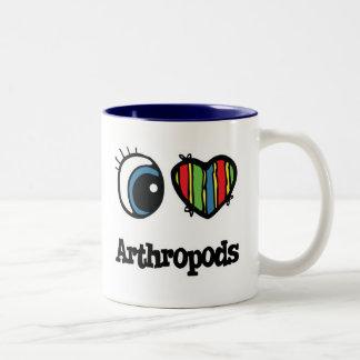 I Love (Heart) Arthropods Mug
