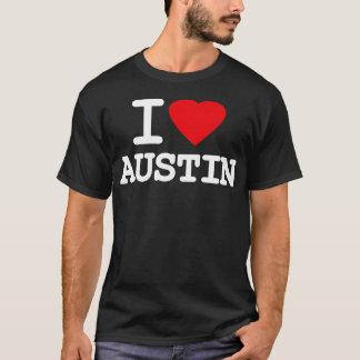 I Love Heart Austin Texas T-Shirt