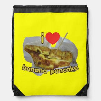 I Love (Heart) Banana Pancake ... Thai Street Food Backpacks