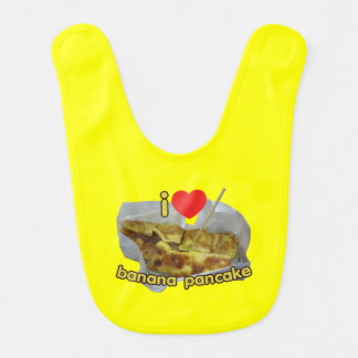 I Love (Heart) Banana Pancake ... Thai Street Food Bib