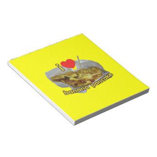 I Love (Heart) Banana Pancake ... Thai Street Food Notepad