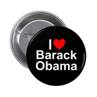 I Love (Heart) Barack Obama Pins
