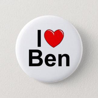 I Love (Heart) Ben 2 Inch Round Button