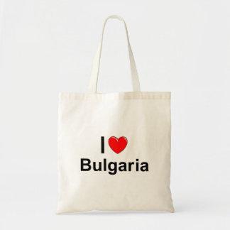 I Love Heart Bulgaria Tote Bag