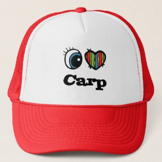 I Love (Heart) Carp Trucker Hat