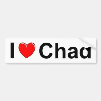 I Love Heart Chad Bumper Sticker