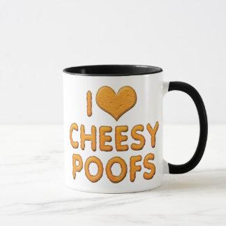 I Love Heart Cheesy Poofs Mug