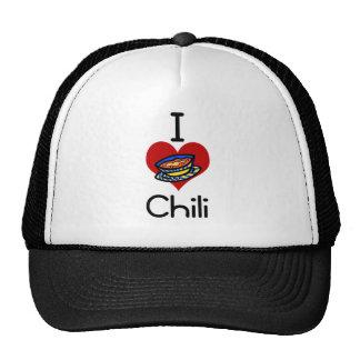 I love-heart chili hat
