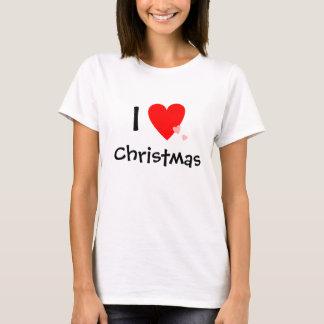 I Love (Heart) Christmas T-Shirt