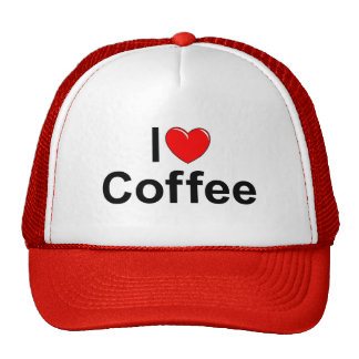 I Love (Heart) Coffee Trucker Hat