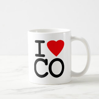 I Love Heart Colorado Coffee Mug