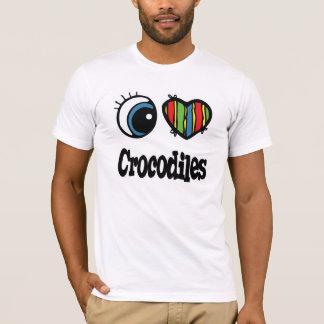 I Love (Heart) Crocodiles T-Shirt