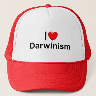 I Love (Heart) Darwinism Trucker Hat