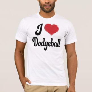 I Love (Heart) Dodgeball T-Shirt