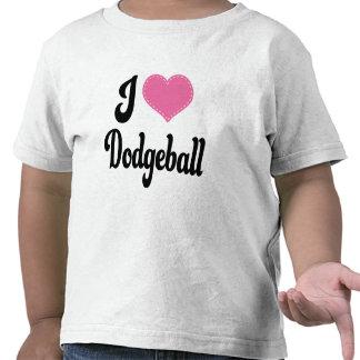 I Love (Heart) Dodgeball Shirt