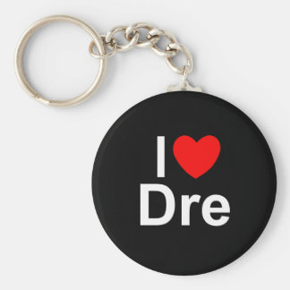 I Love (Heart) Dre Keychain