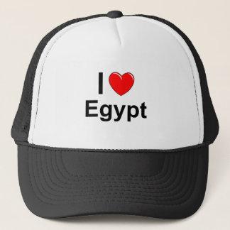I Love Heart Egypt Trucker Hat