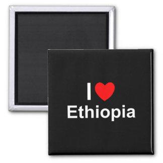 I Love Heart Ethiopia Magnet