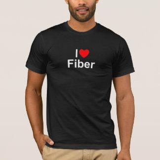 I Love (Heart) Fiber T-Shirt