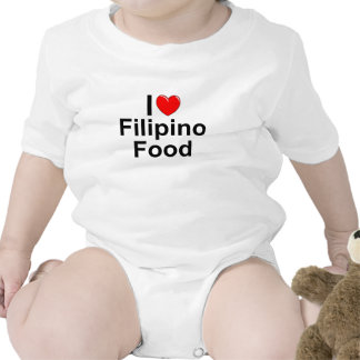 I Love ( Heart) Filipino Food T Shirt