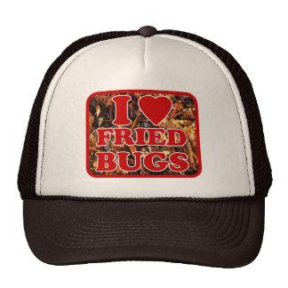 I Love [Heart] Fried Bugs ... Thai Street Food Trucker Hat