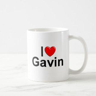 I Love (Heart) Gavin Coffee Mug