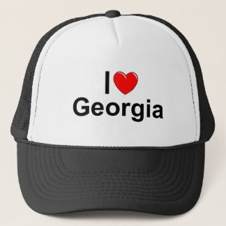 I Love (Heart) Georgia Trucker Hat
