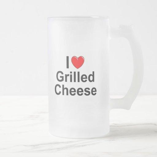 I Love (Heart) Grilled Cheese Mug
