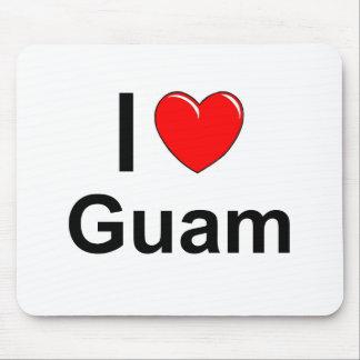 I Love Heart Guam Mouse Pad
