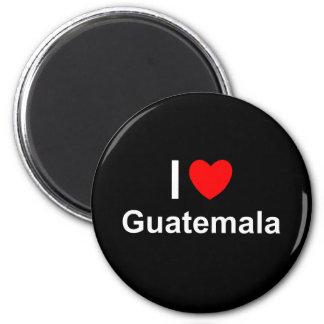 I Love Heart Guatemala Magnet