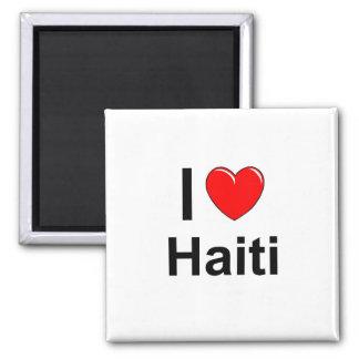 I Love Heart Haiti Magnet