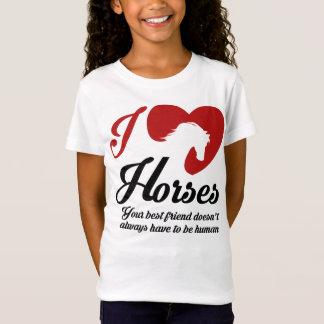 I Love/Heart Horses T-Shirt
