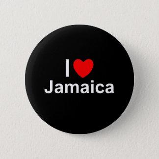 I Love Heart Jamaica 2 Inch Round Button