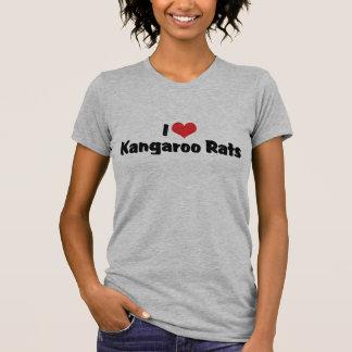 I Love Heart Kangaroo Rats T-shirts