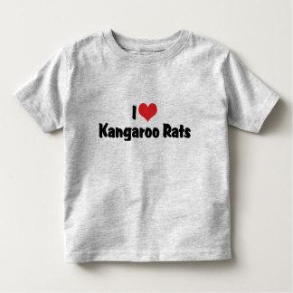 I Love Heart Kangaroo Rats Toddler T-shirt
