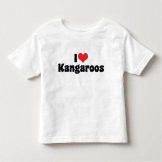 I Love Heart Kangaroos - Kangaroo Lover Shirts