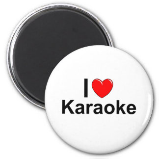 I Love Heart Karaoke Magnet