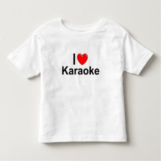 I Love Heart Karaoke Toddler T-shirt