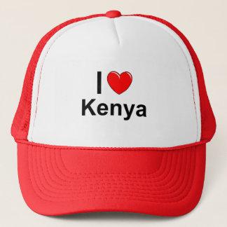 I Love Heart Kenya Trucker Hat