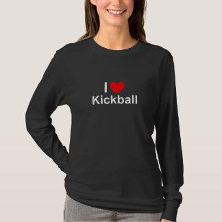 I Love Heart Kickball T-Shirt