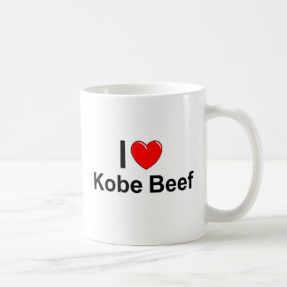 I Love Heart Kobe Beef Coffee Mug