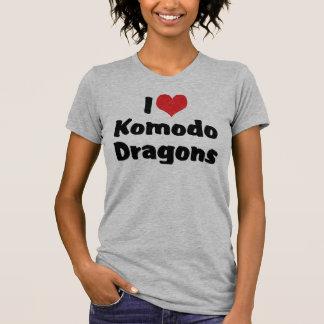 I Love Heart Komodo Dragons T-Shirt