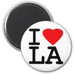 I Love Heart LA Fridge Magnets