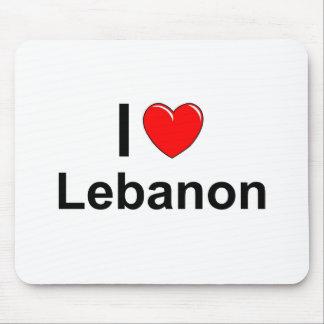 I Love Heart Lebanon Mouse Pad