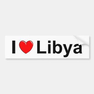 I Love Heart Libya Bumper Sticker