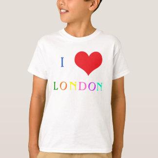 I love heart London colourful kids t-shirt