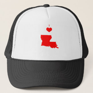 I Love (Heart) Louisiana Trucker Hat