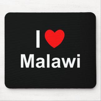 I Love Heart Malawi Mouse Pad